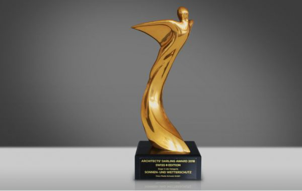 Griesser AG ha vinto il premio Architect's Darling
