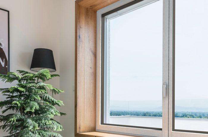 La nuova finestra in legno e metallo HF 400